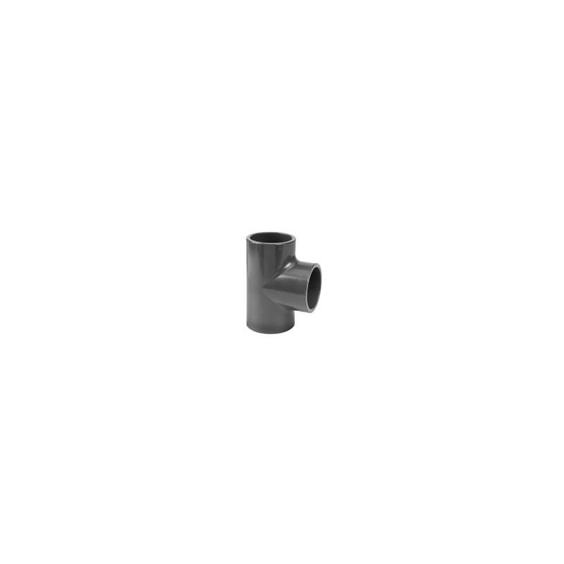 90° PVC pressure equal tee