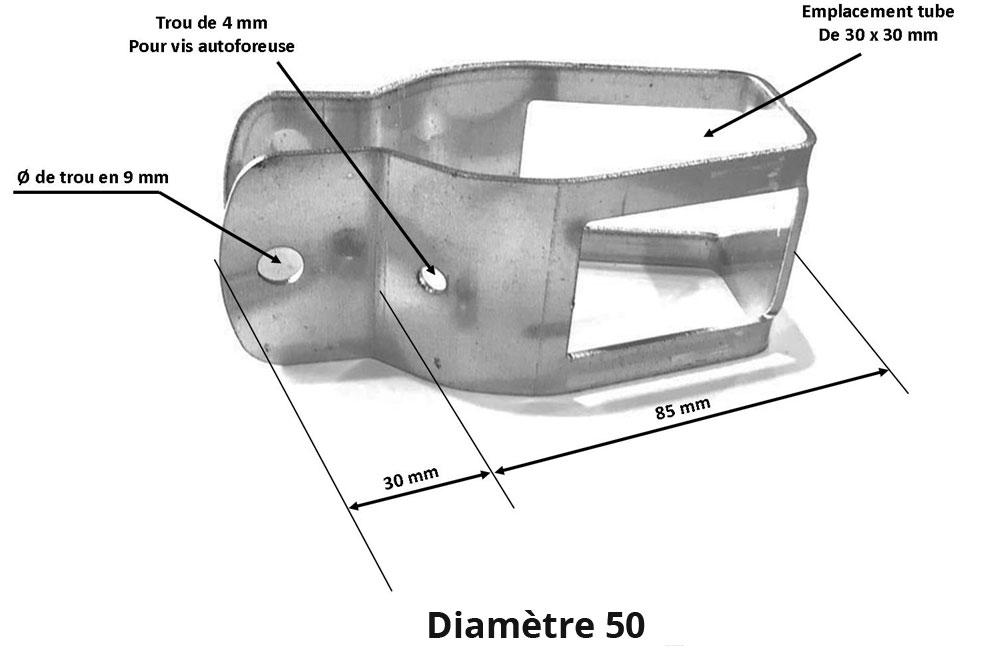 collier diamètre 50