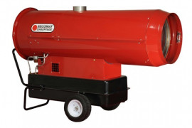 Chauffage mobile fuel air pulsé