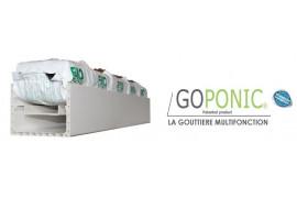 Gouttière Hydroponique GOPONIC®